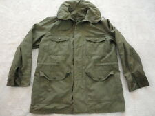 Vietnam Era Field Jacket USAF OG 107 Wind Resistant Sateen Cotton Medium