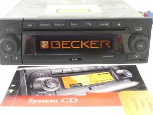 Radio Becker Cascade BE 7944 Mercedes, Porsche