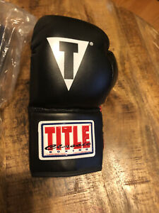 Title Boxing Classic Youth Boxing Gloves - Black/Red