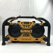 DeWalt DC011 Corded Cordless Heavy Duty Worksite Outdoor AM/FM/AUX Radio Charger