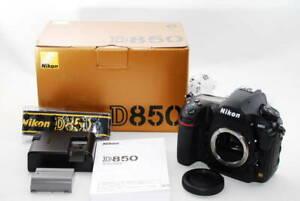 Nikon D850 45.7 Mp Digital SLR Camera Mint IN Scatola  Da Giappone Venditore