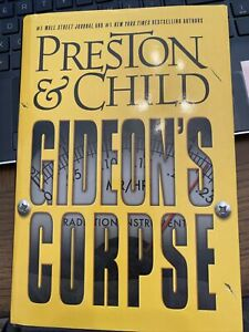 Gideon's Corpse by Preston & Child, EUC 1st/1st Hardcover, FREE SHIP