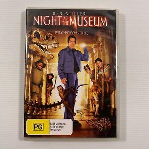 Night at the Museum (DVD 2008) Ben Stiller, Robin Williams Region 4