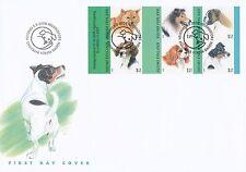 Finland 2008 FDC Booklet - Dogs Boxer Terrier Spaniel Finnish Spitz -Sept 5,2008