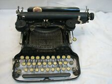 Antique 1922 Corona 3 Three (Pre-Smith) Portable Folding Typewriter Needs Love