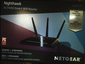 NETGEAR Nighthawk Smart WiFi Router AC1900 (R7000-100PAS)