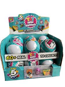 ZURU 5 Surprise! Mini Brands TOYS SERIES *Sealed/Unopened* VHTF 12 ball case