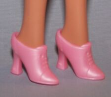 Barbie Doll Shoes Pink Victorian Style Heels Pumps fit Fashionista Barbie