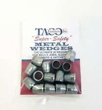 15 steel round axe and hammer wedges (small size)