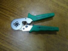 """New listing Greenlee K30Gl 6.9"""" Crimper Square Fc 25 to 10 Awg (0.140 - 6 Sq-Mm)"""