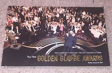 2017 GOLDEN GLOBES GLOBE AWARDS PROGRAM GREAT CONDITION 74th ANNUAL HFPA 1/8/17