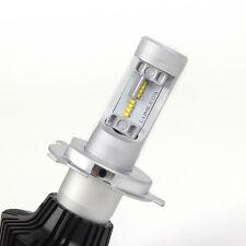 H 4 LAMPADINE A LED  LUMILEDS 6000K 8000LM 40W A BULBO PER AUTO