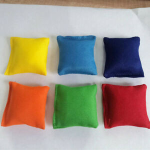 """2"""" Pack 4/12 Bean Bags Throwing Catching Sports PE Playground Juggling Beanbags"""