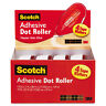 Scotch Adhesive Dot Roller Value Pack 0.3 in x 49 ft. 4/PK 6055BNS