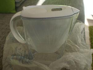 Brita Wasserfilter in weiß/transparent