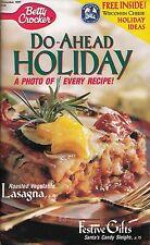 DO-AHEAD HOLIDAY BETTY CROCKER COOKBOOK NOVEMBER, 1997 #133 SANTA'S CANDY SLEIGH
