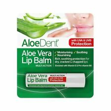 Aloe Dent Natural Lip Balm With Tea & Lysine 4g