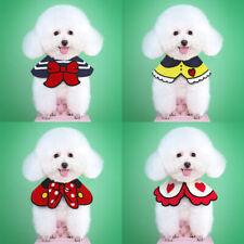 Cute Pet Puppy Cat Dog Bibs Scarf Bandana Collar Adjustable Grooming Accessories