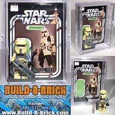 Star Wars Rogue One Shoretrooper custom MINIFIGURE w Case & lego stand 219