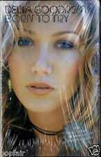 DELTA GOODREM - BORN TO TRY 2003 UK CASSINGLE CARD SLEEVE SLIP-CASE SEALED NEW