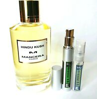 Mancera Hindu Kush EAU DE PARFUM - 5ml Sample Decant Atomizer