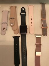 Apple Sport Watch 38mm Case Rose Gold With 6 Watchbands