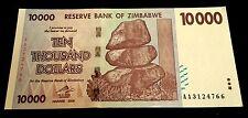 ! Zimbabwe. $10,000 banknote. 2008. UNCIRCULATED / MINT. (Super rare $10000) !