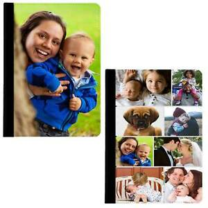 Personalised Case Custom Photo Collage 360 Rotate Swivel Cover For Apple iPad