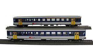 PIKO 96785 SBB NPZ EW I Wagenset A/B +B, AS-Türen (AC) #NEU in OVP#