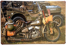 Tin Sign War Car Motorcycle Vintage Home Decor Wall Art Bar Coffee House Garage