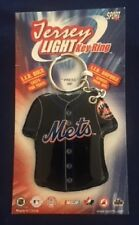 New York Mets Jersey Light Key Ring - FREE U.S.A. SHIPPING