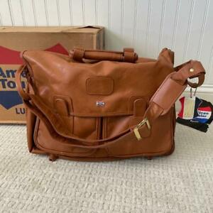 NEW Vintage 1983 American Tourister Escort 1719 Shoulder Tote Mustang w/ BOX