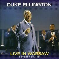 Duke Ellington - Live in Warsaw: October 30 1971 [New CD]