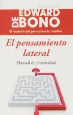 El pensamiento lateral (Spanish) Paperback by Edward de Bono