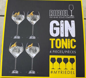 Riedel 4 Stück Gin Tonic Gläser