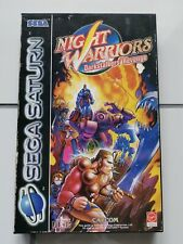 Night Warriors Darkstalkers Revenge - Sega Saturn - OVP PAL