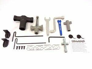 NEW TRAXXAS 1/10 SUMMIT TOOL KIT AND HARDWARE SET BODY PINS WRENCH ALLEN REVO