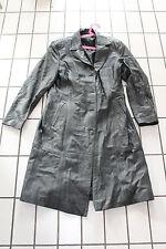 Long manteau en cuir veritable Taille 44