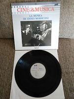 "LA MUSICA DE ENNIO MORRICONE SOUNDTRACK LP VINILO VINYL 12"" 1987 VG+/VG+ PDI"