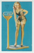 "[70999] VINTAGE MUTOSCOPE GLAMOUR GIRLS ""FIGURES DON'T LIE"""