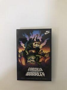 Vintage 1992 Charles Barkley Godzilla Tokyo Clash Shirt Pin 3x2