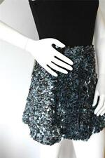 New Genuine All Saints Embellished Graffiti Mini Skirt Size UK 10 EU 38