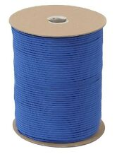ROYAL BLU 550LB 7 Strand 100% Nylon US Made Parachute Paracord 1000 FT 221