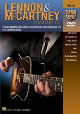 Lennon & McCartney Acoustic Guitar Play-Along DVD NEW 000320989