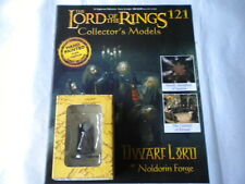 Lord of the Rings Figures - Issue 121 Dwarf Lord at Noldorin Forge - eaglemoss