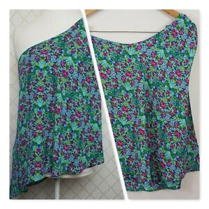[ ROSE & THYME ]  womens Floral Top | Size S or AU 10 / US 6