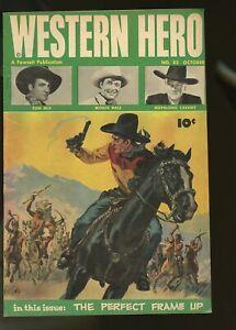 WESTERN HERO #83 FINE 6.0 TOM MIX / MONTE HALE / HOPALONG CASSIDY 1949 FAWCETT