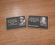 More details for republican irish maccurtain & macswiney mayor cork 1920-2020 pin badge set green