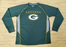 Green Bay Packers Football NFLTA Long Sleeve Athletic Shirt ~ Men's Large L / XL