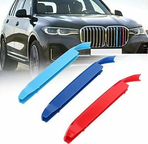 BizTech® Clip In Grill inserts Stripes For BMW X7 G07 2019- up M Power